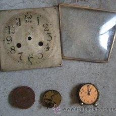 Recambios de relojes: LOTE DE PIEZAS DE RELOJ. Lote 21953278