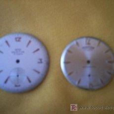 Recambios de relojes: ESFERAS DE RELOJ DE PULSERA. Lote 15460843