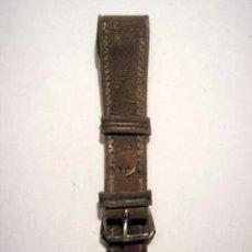 Recambios de relojes: CORREA DE PIEL MARRÓN PARA RELOJ DE PULSERA. Lote 24367066