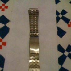 Recambios de relojes: CORREA METÁLICA. TAMAÑO ADULTO.. Lote 16086581