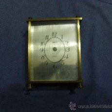 Recambios de relojes: CAJA DE RELOJ DE METAL CON ESFERA Y CRISTAL. Lote 27276501