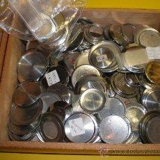 Recambios de relojes: LOTE DE 40 TAPAS DE RELOJES DE PULSERA SIN ROSCA. Lote 24049821