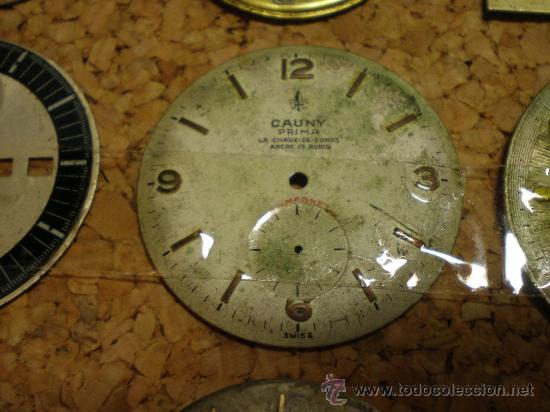Recambios de relojes: LOTE DE 24 ESFERAS PARA RELOJES DE PULSERA MUY ANTIGUOS - Foto 3 - 26904953