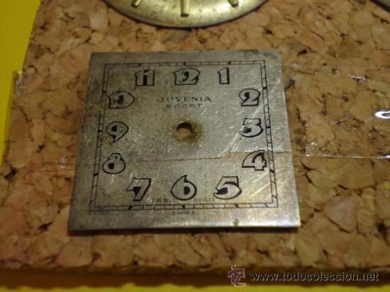 Recambios de relojes: LOTE DE 24 ESFERAS PARA RELOJES DE PULSERA MUY ANTIGUOS - Foto 4 - 26904953