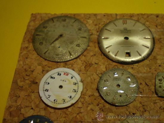 Recambios de relojes: LOTE DE 41 ESFERAS PARA RELOJES DE PULSERA - Foto 2 - 26797850