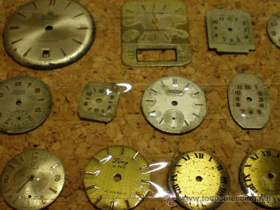 Recambios de relojes: LOTE DE 41 ESFERAS PARA RELOJES DE PULSERA - Foto 4 - 26797850