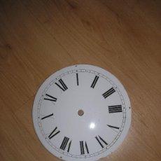 Recambios de relojes: ANTIGUA ESFERA PORCELANA- AÑO 1890-10-23,2 CM -. Lote 26679631