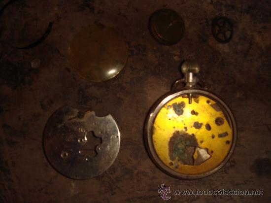PIEZAS DE ANTIGUO RELOJ DE BOLSILLO (Relojes - Recambios)