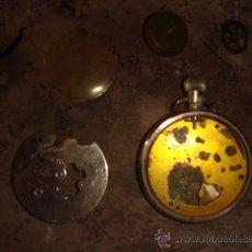 Recambios de relojes: PIEZAS DE ANTIGUO RELOJ DE BOLSILLO. Lote 27702990