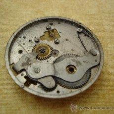 Recambios de relojes: PARTE DE ANTIGUA MAQUINARIA DE RELOJ DE BOLSILLO - DIAMETRO EXTERIOR: 44 MM. APROX.. Lote 28483711