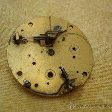 Recambios de relojes: PARTE DE ANTIGUA MAQUINARIA DE RELOJ DE BOLSILLO - LONDON - DIAMETRO 36 MM. APROX.. Lote 28483786