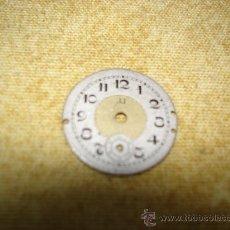 Recambios de relojes: VIEJA ESFERA DE RELOJ - DIAMETRO:21 MM. APROX.. Lote 28508029