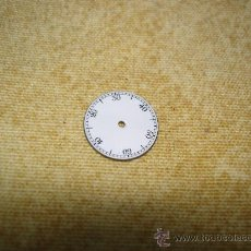 Recambios de relojes: PEQUEÑA ESFERA ESMLTADA DEL MINUTERO DE ALGUN RELOJ BOLSILLO - DIAMETRO: 10 MM. APROX.. Lote 28508136