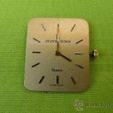 Recambios de relojes: MÁQINA UNIVERSAL GENEVE QUARTZ. Lote 28556513