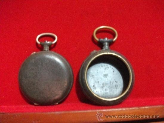 Recambios de relojes: 2 Cajas de realmente antiguos relojes de Bolsillo , Grandes (1 Roskopf) - Foto 4 - 28621520
