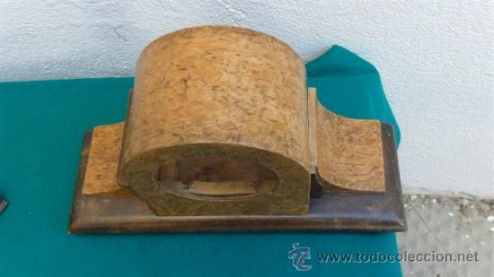 Recambios de relojes: caja de reloj de sobremesa napoleonico - Foto 2 - 28870471