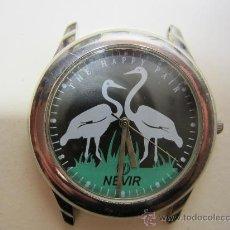 Recambios de relojes: RELOJ DE PULSERA DE CABALLERO MARCA NEVIR PARA REPARAR . Lote 29994327