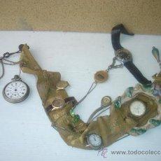 Recambios de relojes: LOTE DE RELOJES HACIENDO UN MURRAL. Lote 31253766