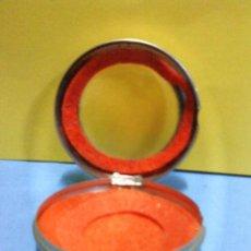 Recambios de relojes: CAJA FUNDA DE RELOJ DE BOLSILLO - METAL - INTERIOR FORRADO DE FIELTRO - AÑOS 40 / 50 - VER FOTO. Lote 31643801