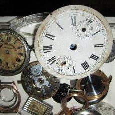 Recambios de relojes: LOTE DE PIEZAS DE RELOJERIA. Lote 31702088
