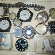 Recambios de relojes: LOTE DE PIEZAS DE RELOJERÍA. Lote 31714099