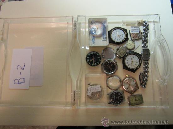 Recambios de relojes: LOTE DE PIEZAS DE RELOJERÍA - Foto 2 - 31714099