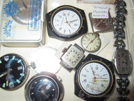 Recambios de relojes: LOTE DE PIEZAS DE RELOJERÍA - Foto 5 - 31714099