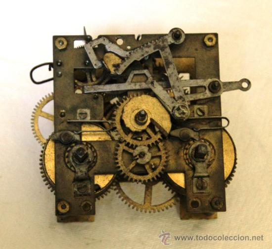 Antigua maquina de reloj de pared de pendulo comprar - Maquinaria de reloj de pared con pendulo ...