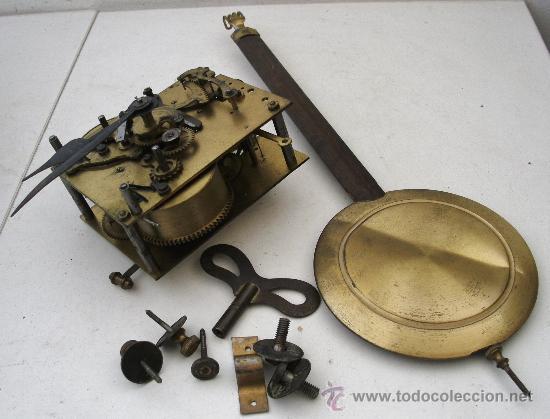 Mecanismo pendulo llave y tornillos para relo comprar - Mecanismo reloj pared ...