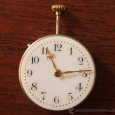 Recambios de relojes: RELOJ DE BOLSILLO ESFERA DE PORCELANA SIN SU CAJA 2,5 CM DE DIAMETRO. Lote 40347779