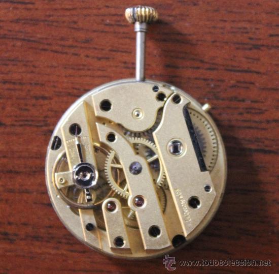 Recambios de relojes: RELOJ DE BOLSILLO ESFERA DE PORCELANA SIN SU CAJA 2,5 CM DE DIAMETRO - Foto 2 - 40347779