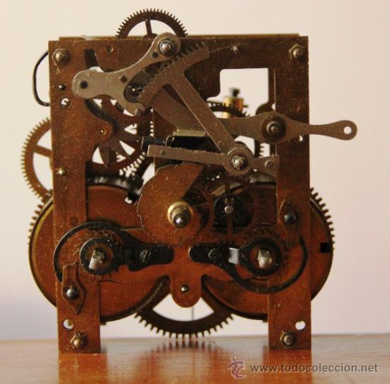 Antigua maquina de reloj de pared junghans comprar - Comprar mecanismo reloj pared ...