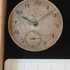 Recambios de relojes: PARTE DE RELOJ CONTY WATCH CO. Lote 34972323