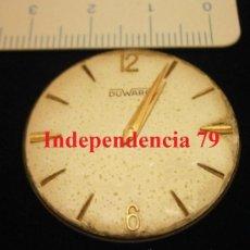 Recambios de relojes: PARTE DE RELOJ DUWAR, SWISS MADE. Lote 34983581