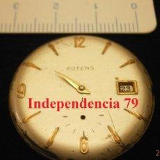 Recambios de relojes: PARTE DE RELOJ POTENS, SWISS MADE. Lote 34991245