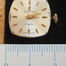 Recambios de relojes: PARTE DE RELOJ FESTINA, SWISS MADE. Lote 35174981