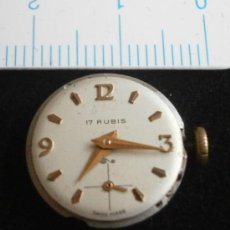 Recambios de relojes: PARTE DE RELOJ, SWISS MADE. Lote 35260206