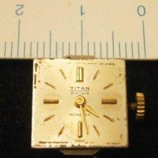 Recambios de relojes: PARTE DE RELOJ TITAN, INCABLOC, SWISS MADE. Lote 35766446