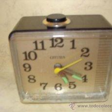 Ricambi di orologi: DESPERTADOR CITIZEN - 10 X 9 X 6 CM.. Lote 36749407