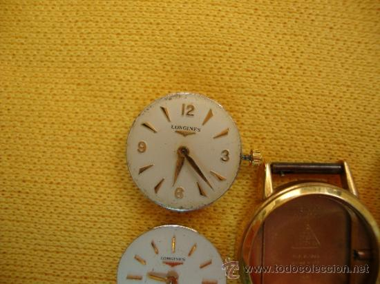 Recambios de relojes: MAQUINAS RELOJ SEÑORA OMEGA Y LONGINES - Foto 6 - 37921468
