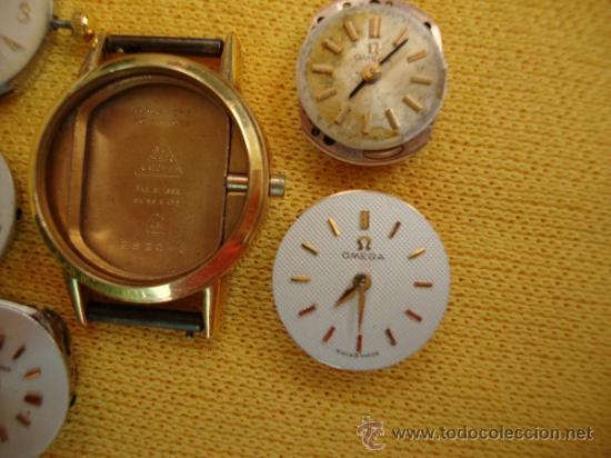 Recambios de relojes: MAQUINAS RELOJ SEÑORA OMEGA Y LONGINES - Foto 5 - 37921468