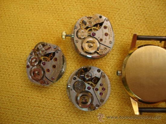 Recambios de relojes: MAQUINAS RELOJ SEÑORA OMEGA Y LONGINES - Foto 2 - 37921468
