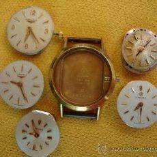 Recambios de relojes: MAQUINAS RELOJ SEÑORA OMEGA Y LONGINES. Lote 37921468