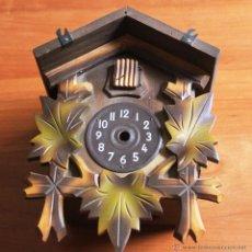 Recambios de relojes: LIQUIDACION CAJA DE RELOJ DE CUCO PEQUEÑO. Lote 39891338