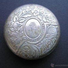 Recambios de relojes: TAPA DE UN ANTIGUO CRONÓMETRO M.R. MARINA REAL S. XIX O ¿XVIII?.. Lote 40339038