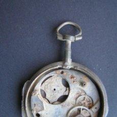 Recambios de relojes: RELOJ SUIZO DE BOLSILLO ANTIGUO DEL SIGLO XVIII. LETON.DE RECUPERACIÓN.. Lote 40340889