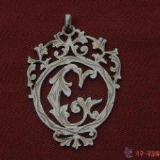 Recambios de relojes: ANTIGUO ADORNO DE LEONTINA-PIEZA DE PLATA PARA PERSONALISAR LAS CADENA DE RELOJ BOLCILLO-SIGLO XIX. Lote 40596762