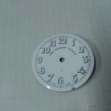 Recambios de relojes: ESFERA RELOJ DE BOLSILLO GRE ROSKOPF PATENT DE 35,2 MM. DE DIAMETRO. Lote 40722462