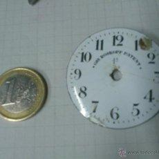 Recambios de relojes: ESFERA RELOJ DE BOLSILLO GRE ROSKOPF PATENT DE 42,5 MM. DE DIAMETRO. Lote 40722981
