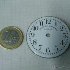 Recambios de relojes: ESFERA RELOJ DE BOLSILLO SYSTEME ROSKOPF PATENT. . DE 43 MM. DE DIAMETRO. Lote 40723829
